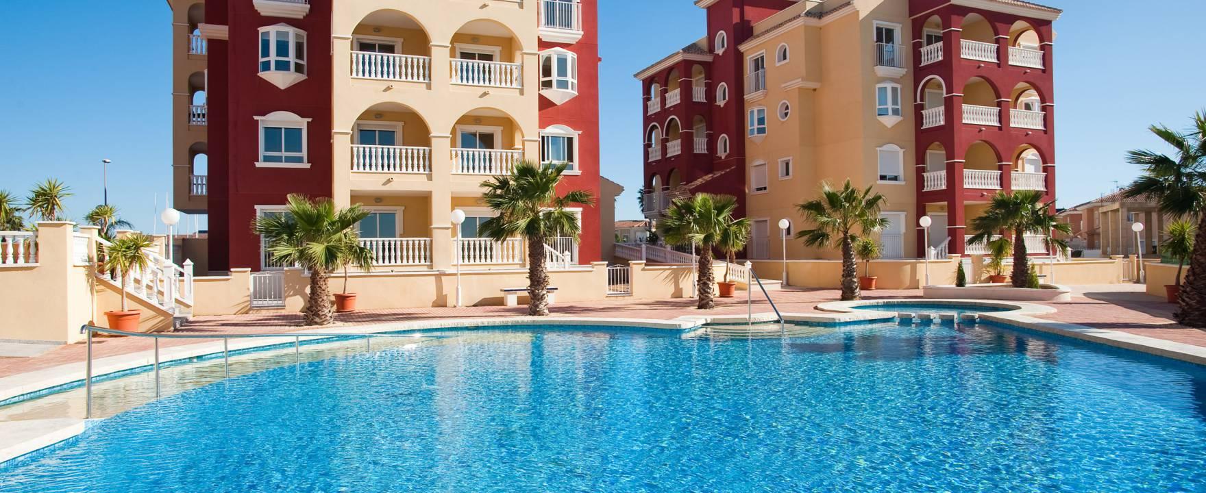 Nye innflyttingsklare leiligheter i Los Alcázares – gangavstand til stranden!